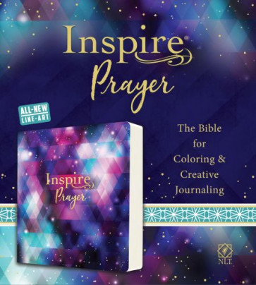 Inspire PRAYER Bible NLT (Softcover) - Softcover