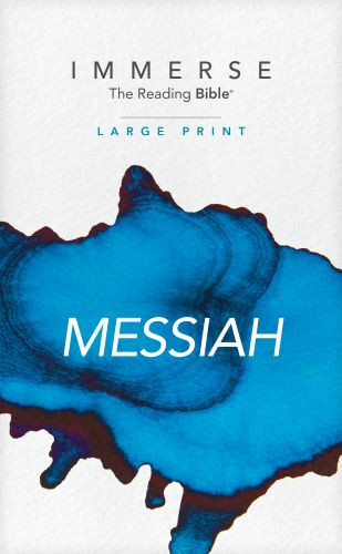 Immerse: Messiah, Large Print (Softcover) - Softcover