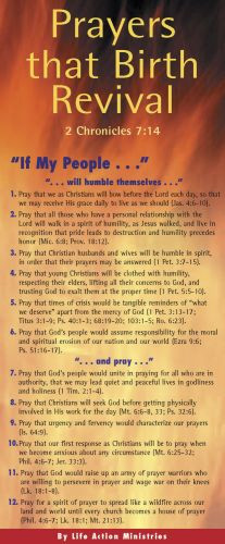 Prayers That Birth Revival 50-pack - Cards