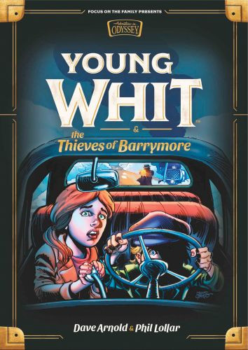 Young Whit and the Thieves of Barrymore - Hardcover