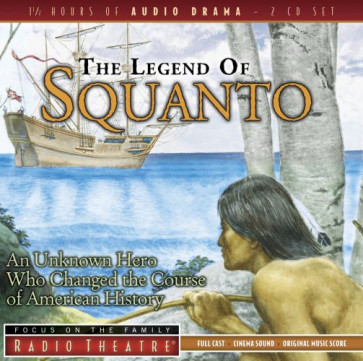 The Legend of Squanto - CD-Audio