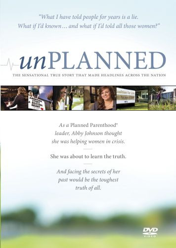 Unplanned - DVD video
