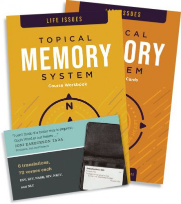 Topical Memory System: Life Issues - Softcover