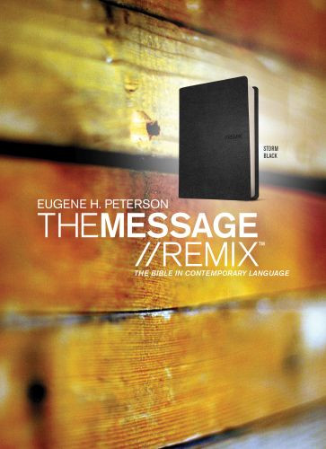 The Message//REMIX - Leather-Look With ribbon marker(s)