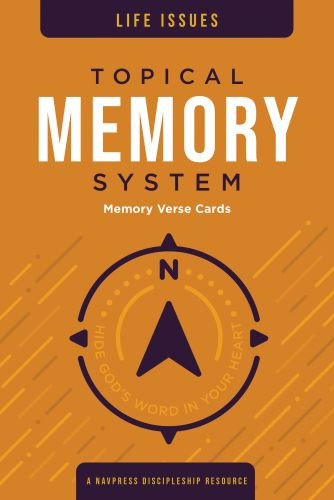 Topical Memory System Life Issues Memory Verse Cards - Softcover