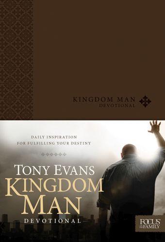 Kingdom Man Devotional - LeatherLike
