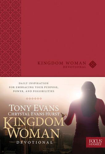 Kingdom Woman Devotional - LeatherLike