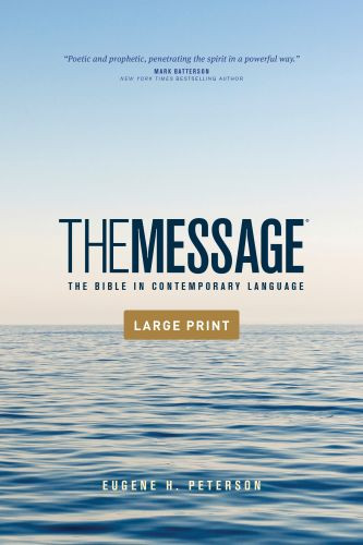The Message Outreach Edition, Large Print (Softcover) - Softcover