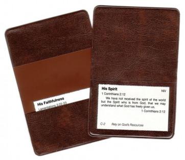 Vinyl Versecard Holder 5-Pack - Wallet or folder
