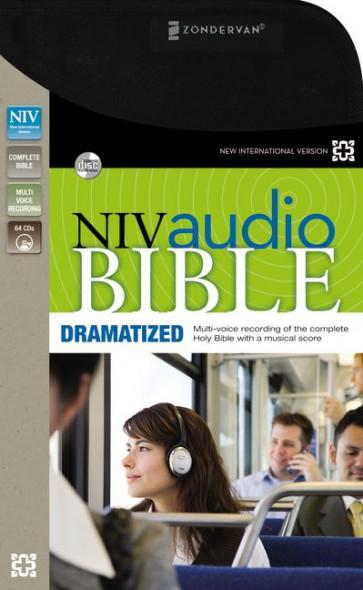 NIV, Audio Bible, Dramatized, Audio CD - CD-Audio