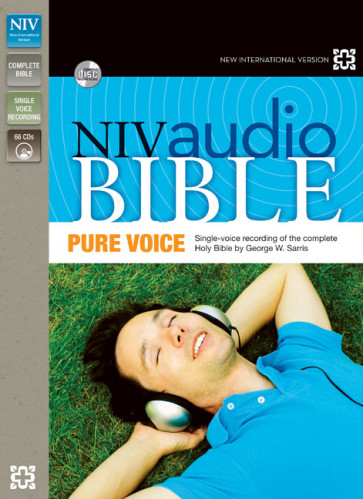 NIV, Audio Bible, Pure Voice, Audio CD - CD-Audio