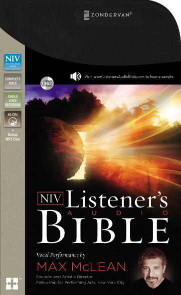 NIV, Listener's Audio Bible, Audio CD - CD-Audio