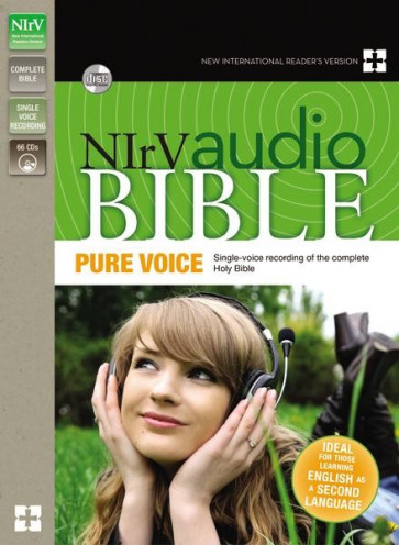 NIrV, Audio Bible: Pure Voice, Audio - CD-Audio