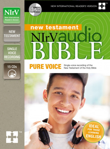 NIrV Audio Bible New Testament, Pure Voice - CD-Audio