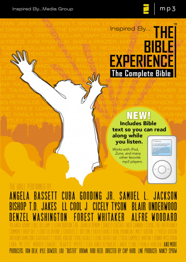 TNIV, Inspired By The Bible Experience, The Complete Bible, MP3 Audio CD - CD-Audio