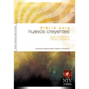 El Nuevo Testamento Compacta Para Nuevos Creyentes NTV - New Believer's Compact NT Spanish - Softcover