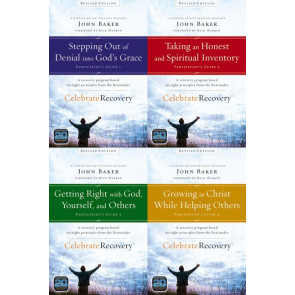 Celebrate Recovery Revised Edition Participant's Guide Set : A Program for Implementing a Christ-centered Recovery Ministry in Your Church - Multiple copy pack