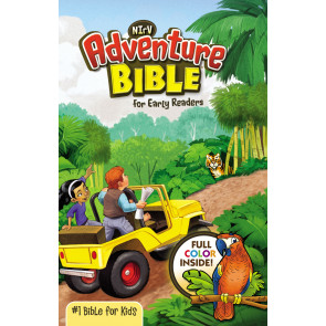 NIrV, Adventure Bible for Early Readers, Hardcover, Full Color - Hardcover With dust jacket