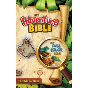 NIV, Adventure Bible, Hardcover, Full Color - Hardcover With dust jacket