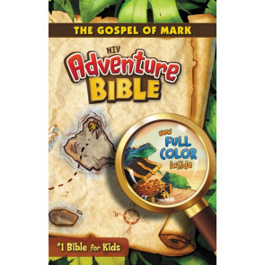 NIV, Adventure Bible: The Gospel of Mark, Paperback, Full Color - Softcover