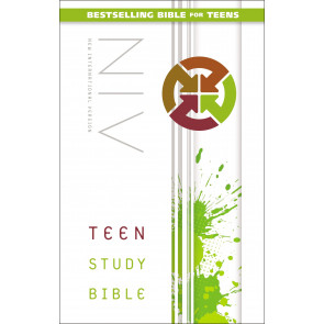 Teen Study Bible, NIV - Hardcover