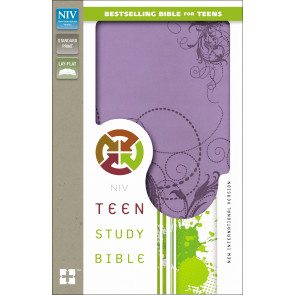 Teen Study Bible, NIV - Imitation Leather, With ribbon marker(s) Violet