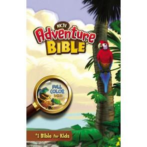 NKJV, Adventure Bible, Hardcover, Full Color - Hardcover