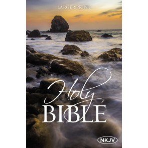NKJV Holy Bible, Larger Print - Softcover