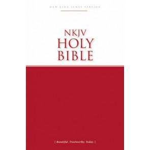 NKJV, Economy Bible, Paperback - Softcover