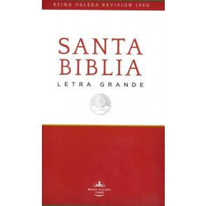 RVR60 Santa Biblia -Edición Económica Letra grande - Softcover