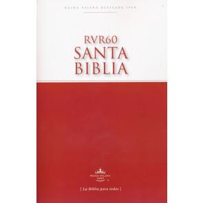 RVR60 Santa Biblia -Edición Económica - Softcover