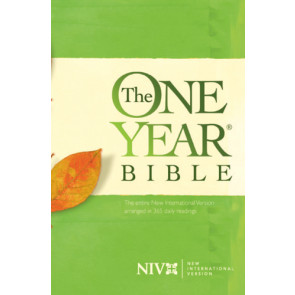 The One Year Bible NIV - Softcover
