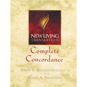 New Living Translation Complete Concordance - Hardcover