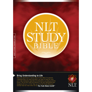 NLT Study Bible - Hardcover With printed dust jacket