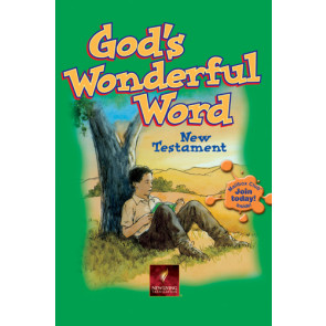 CEF Gods Wonderful Word- New Believer's NT - Softcover