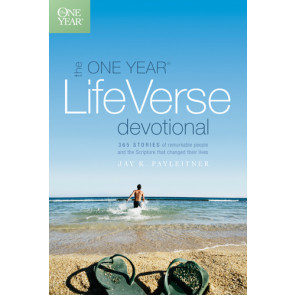 The One Year Life Verse Devotional - Softcover