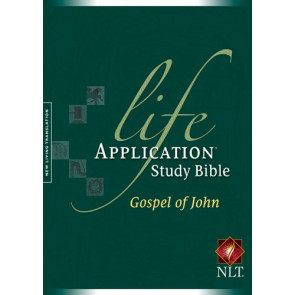 Life Application Study Bible NLT, Gospel of John with New Believers Introduction - Softcover
