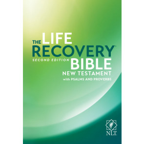 The Life Recovery New Testament NLT w/Psalms & Proverbs - Softcover