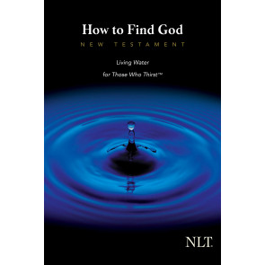 How to Find God New Testament (Third Edition) NLT - Softcover