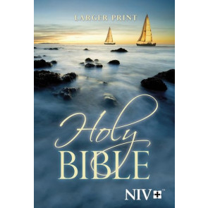 NIV Holy Bible, Larger Print - Softcover
