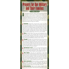 Prayers for Our Military and Their Families 50-pack - Cards