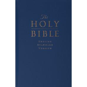 ESV Premium Pew and Worship Bible (Navy Blue) - Hardcover
