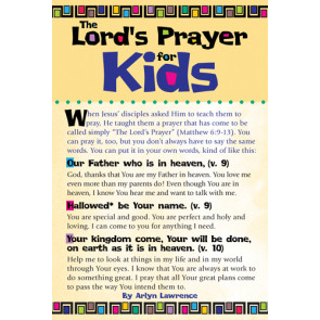 The Lord's Prayer for Kids 20-pack - Cards