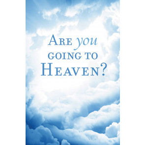 Are You Going to Heaven?  KJV 25-pack