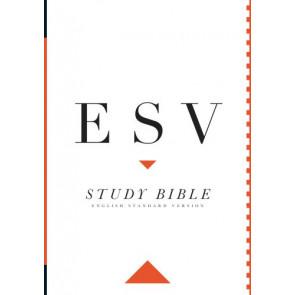 ESV Study Bible - Hardcover Multicolor