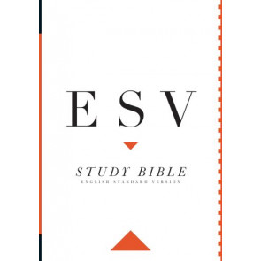 ESV Study Bible, Large Print - Hardcover