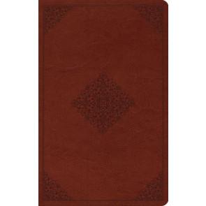 ESV Value Thinline Bible (TruTone, Tan, Ornament Design) - Imitation Leather