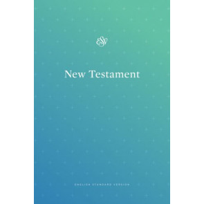 ESV Outreach New Testament (Paperback, Blue) - Softcover
