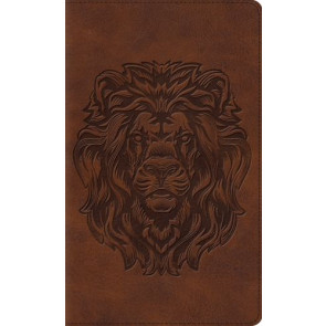ESV Thinline Bible (TruTone, Royal Lion) - Imitation Leather With ribbon marker(s)