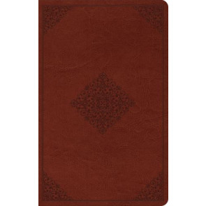 ESV Thinline Reference Bible (TruTone, Tan, Ornament Design) - Imitation Leather With ribbon marker(s)